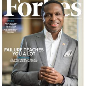 Tonye Cole_Sahara Group_Forbes Africa Cover