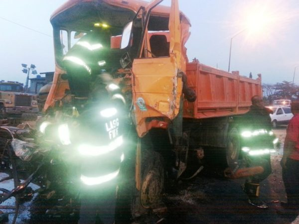 Truck and Tanker Accident2
