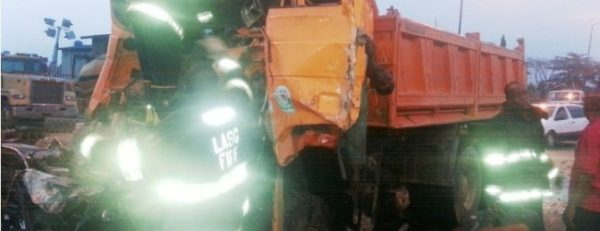 Truck and Tanker Accident3