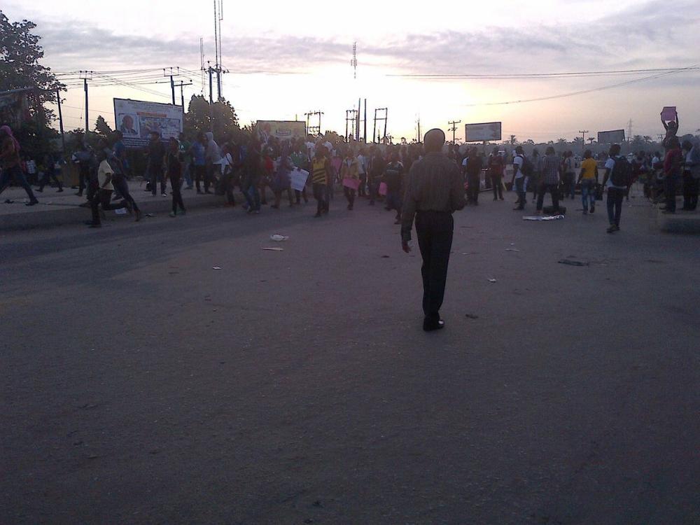 Uniport Protest1
