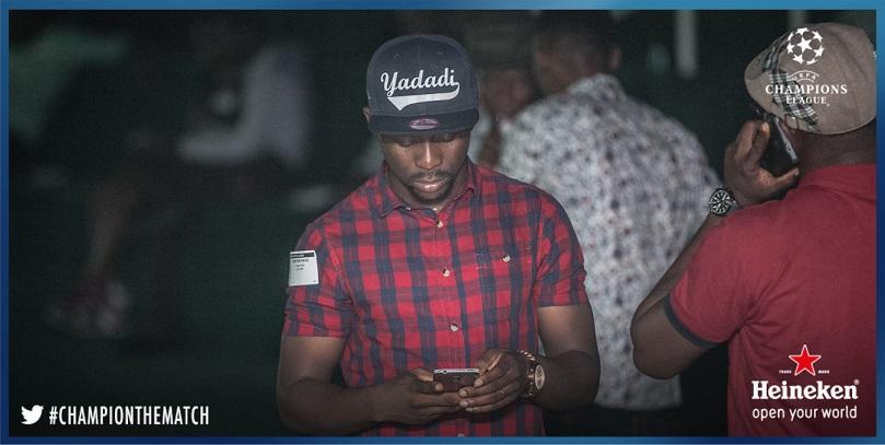 Ushbebe at #HeinekenHouseLagos