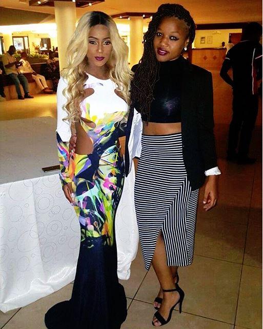 Vanessa Mdee and Salha Kibwana