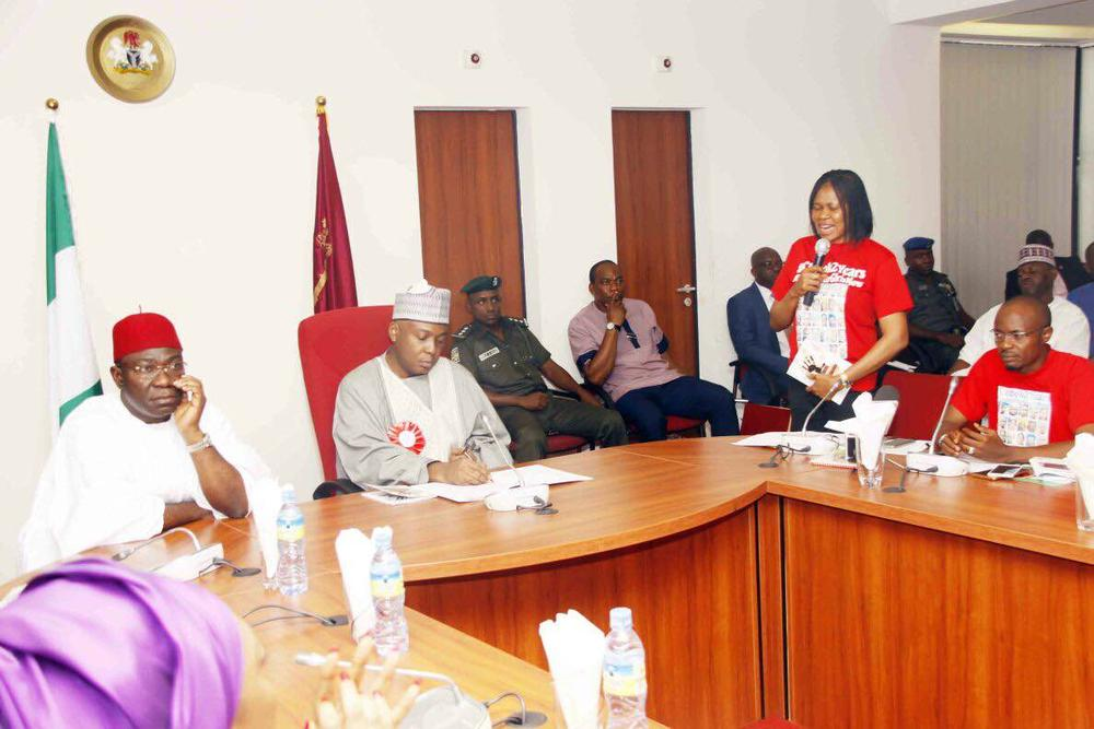 Women Arise Network Visits Senate4