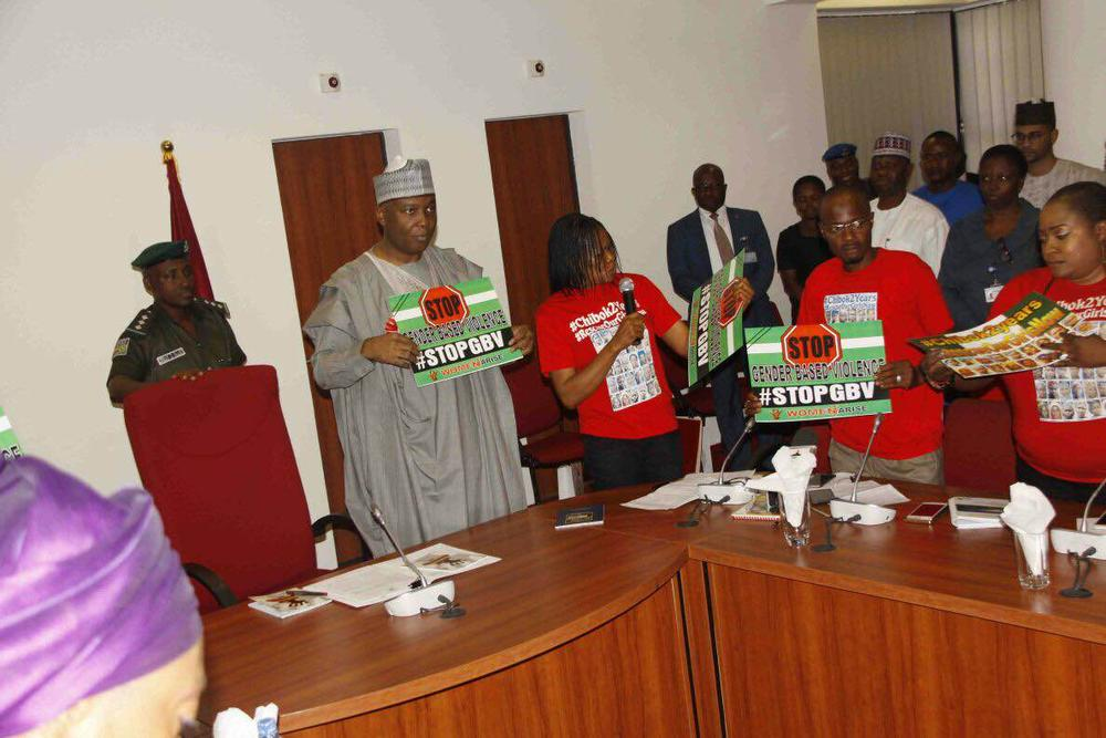 Women Arise Network Visits Senate5