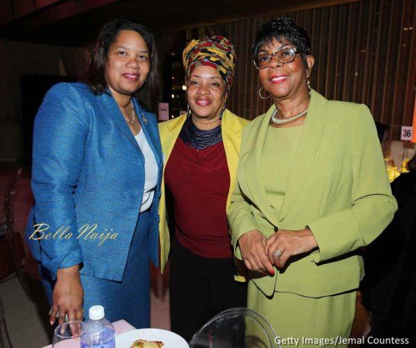 Activist Kim Odum, Iesha Sekou and Dorothy Johnson-Speight