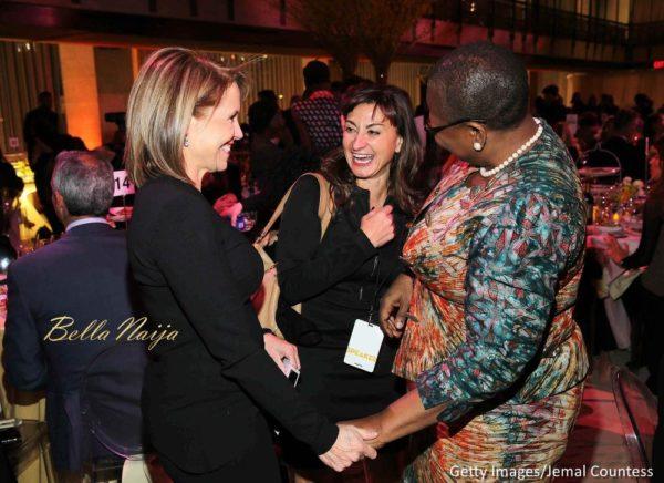 Journalist Katie Couric, photojournalist Lynsey Addario and activist Obiageli Ezekwesili