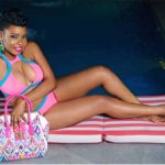 Yemi Alade Swimsuit for Ono Bello