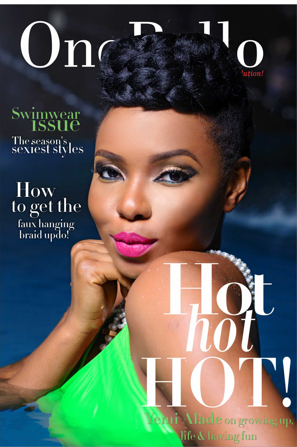 Yemi Alade Swimsuit for Ono Bello1. Cover