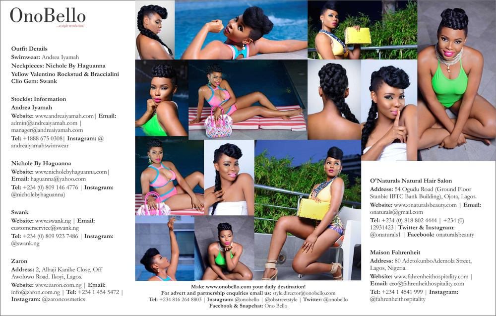 Yemi Alade Swimsuit for Ono Bello11