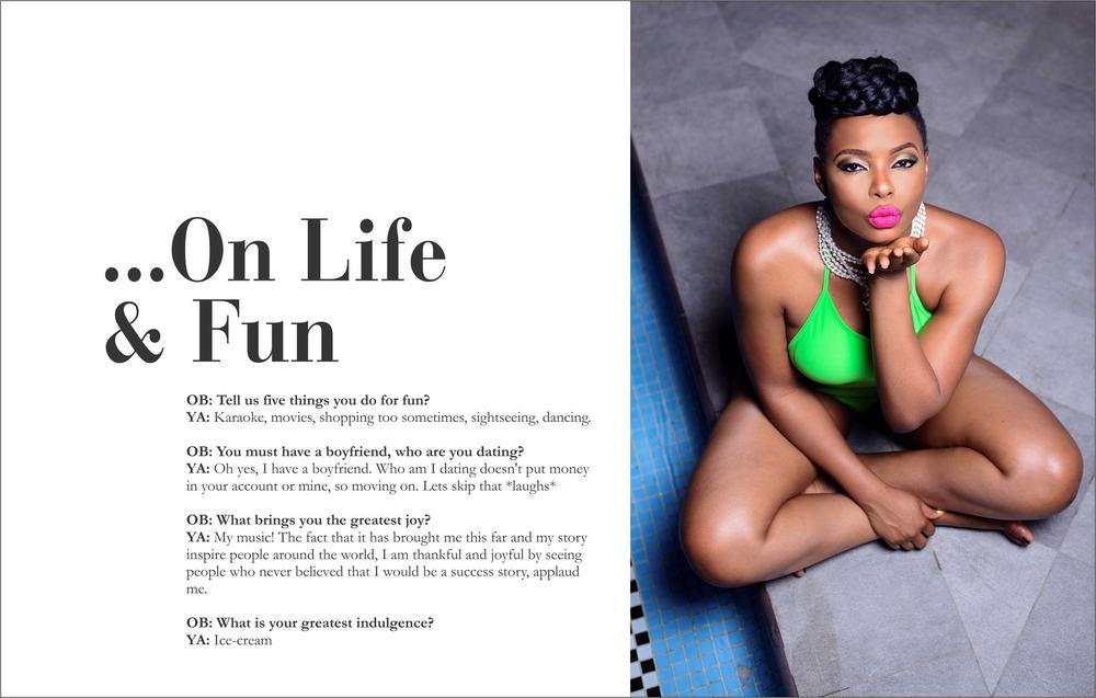 Yemi Alade Swimsuit for Ono Bello8