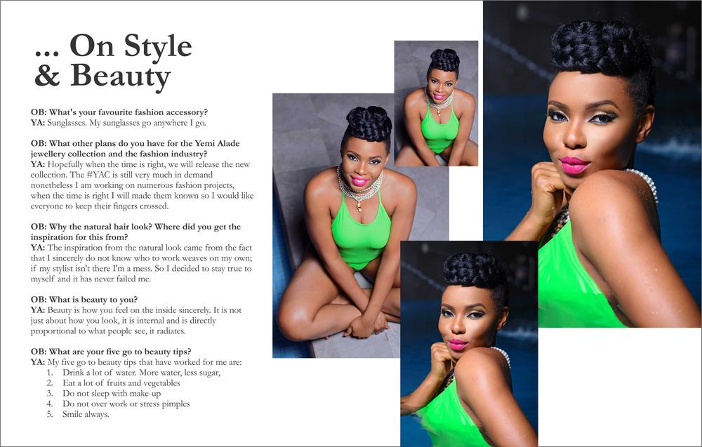 Yemi Alade Swimsuit for Ono Bello9