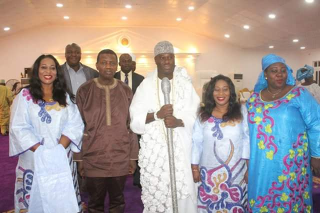 Yeye Oba with Ooni