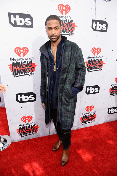 INGLEWOOD, CALIFORNIA - APRIL 03: Singer Big Sean attends the iHeartRadio Music Awards at The Forum on April 3, 2016 in Inglewood, California. (Photo by Frazer Harrison/Getty Images for iHeartRadio / Turner)