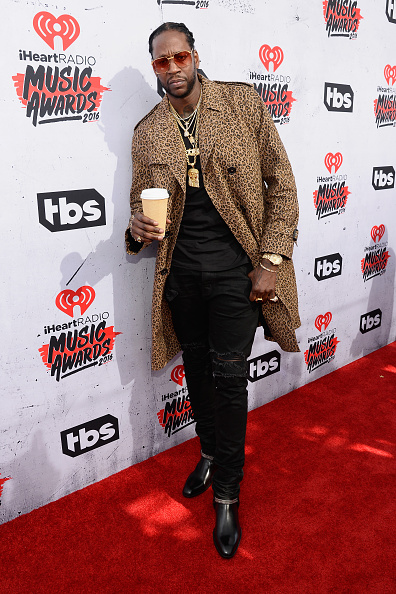 INGLEWOOD, CALIFORNIA - APRIL 03: Rapper 2 Chainz attends the iHeartRadio Music Awards at The Forum on April 3, 2016 in Inglewood, California. (Photo by Frazer Harrison/Getty Images for iHeartRadio / Turner)