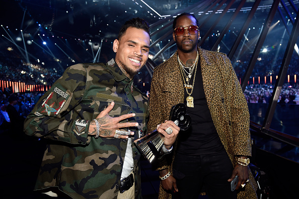 Chris Brown and 2 Chainz