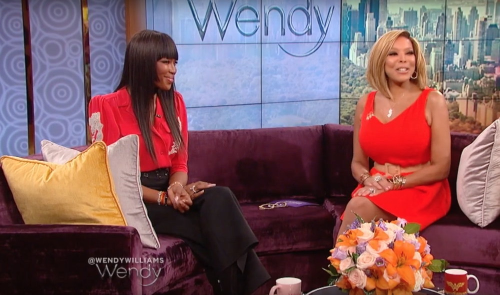naomi campbell and wendy williams wendy show