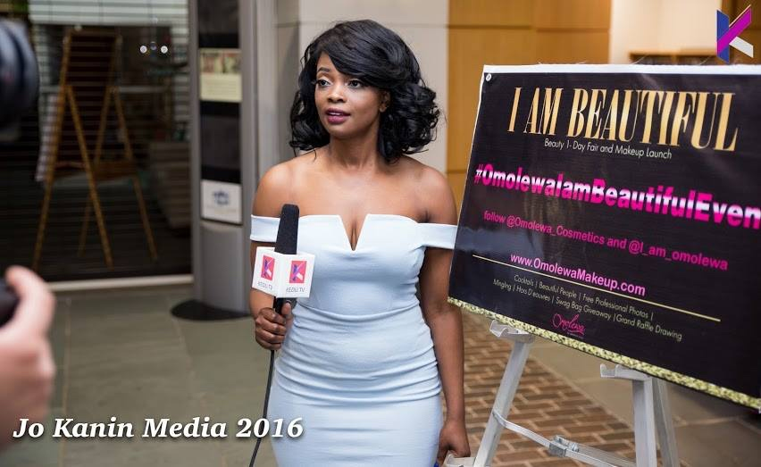 omolewa cosmetics launch bellanaija april2016_Asiha - KItchen Talk hotst from Kedu TV