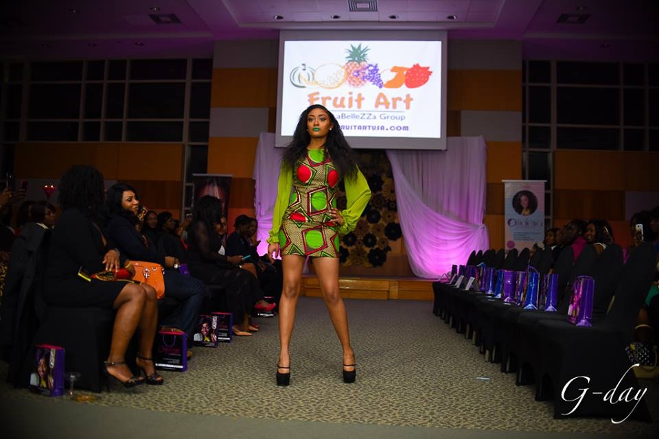 omolewa cosmetics launch bellanaija april2016_Fashion show begins