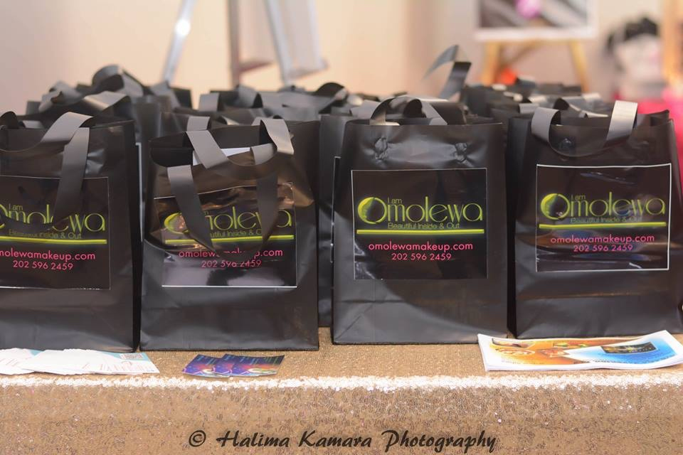 omolewa cosmetics launch bellanaija april2016_Goodie Bags for Guest