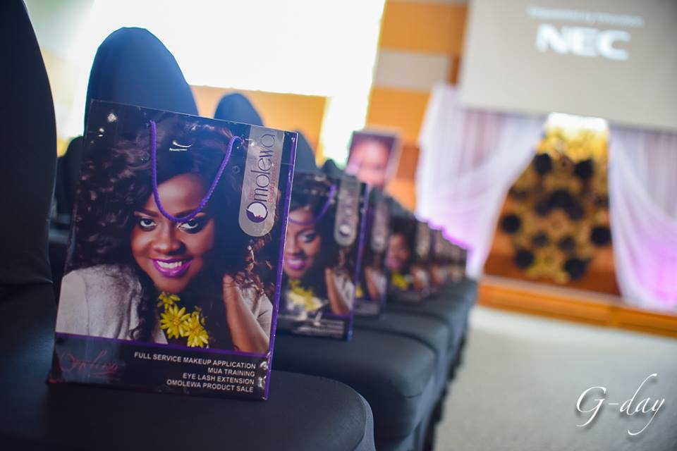 omolewa cosmetics launch bellanaija april2016_Goodie Bags for VIP Guest