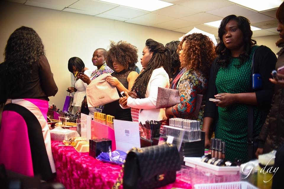 omolewa cosmetics launch bellanaija april2016_Guest shop Omolewa Products