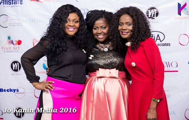 omolewa cosmetics launch bellanaija april2016_Omolewa with her sisters