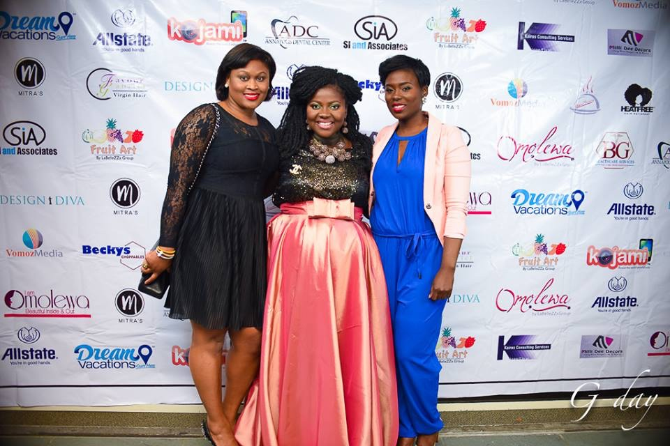 omolewa cosmetics launch bellanaija april2016_Red Carpet Pics