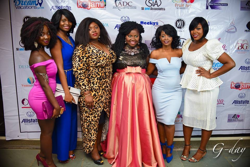 omolewa cosmetics launch bellanaija april2016_Red carpet pic