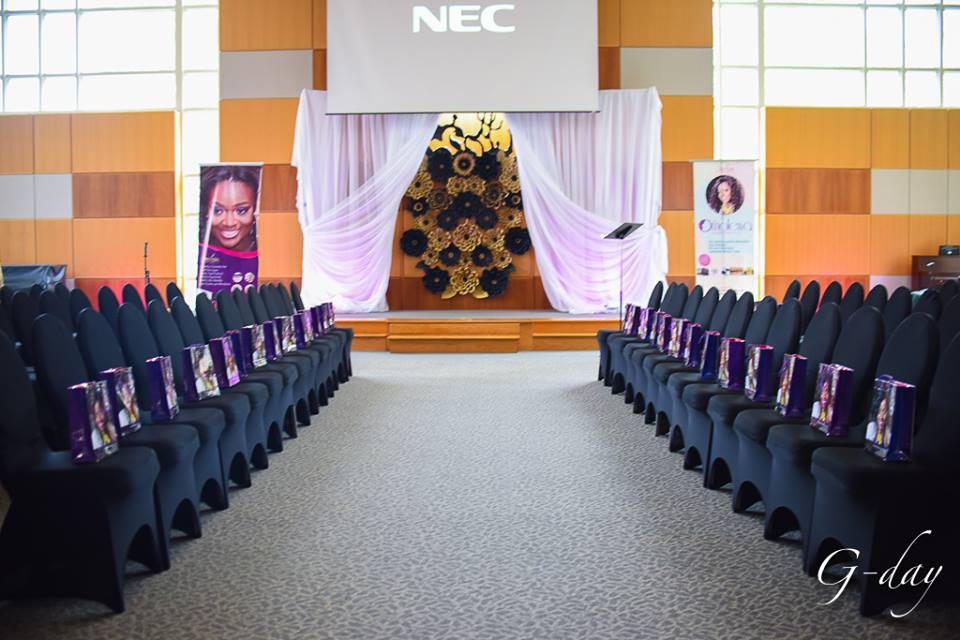 omolewa cosmetics launch bellanaija april2016_Room is Set, Ready to open doors for guest in the lobby