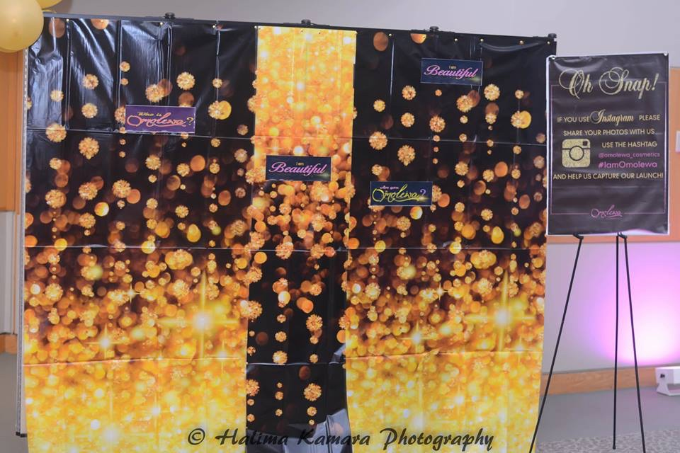 omolewa cosmetics launch bellanaija april2016_Selfie Station