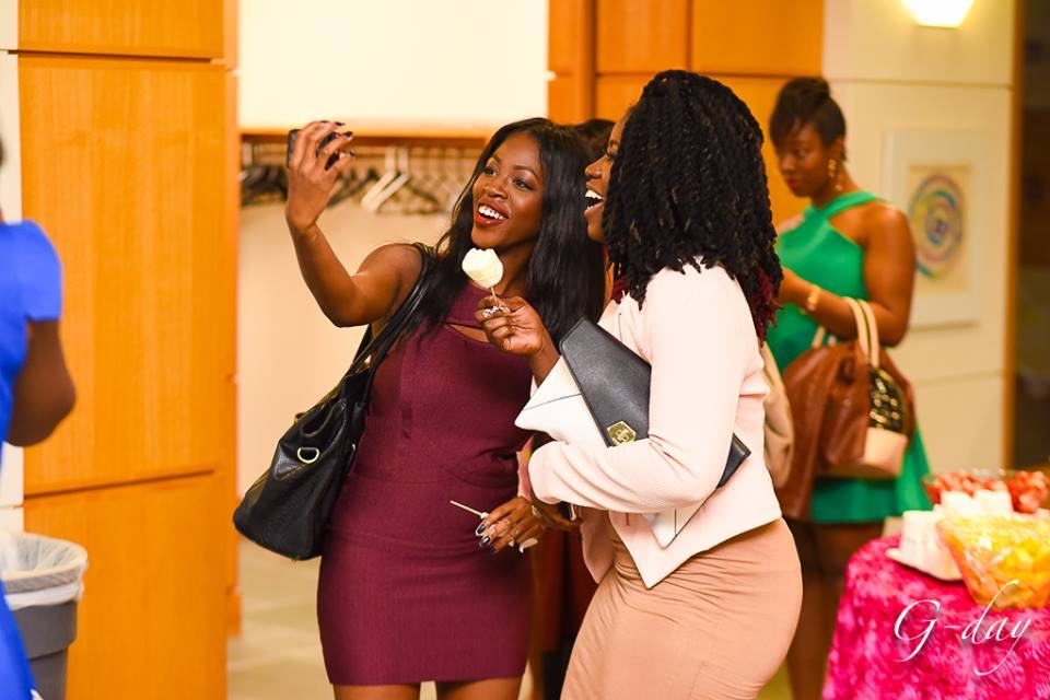 omolewa cosmetics launch bellanaija april2016_chocolate Fountain and Selfie