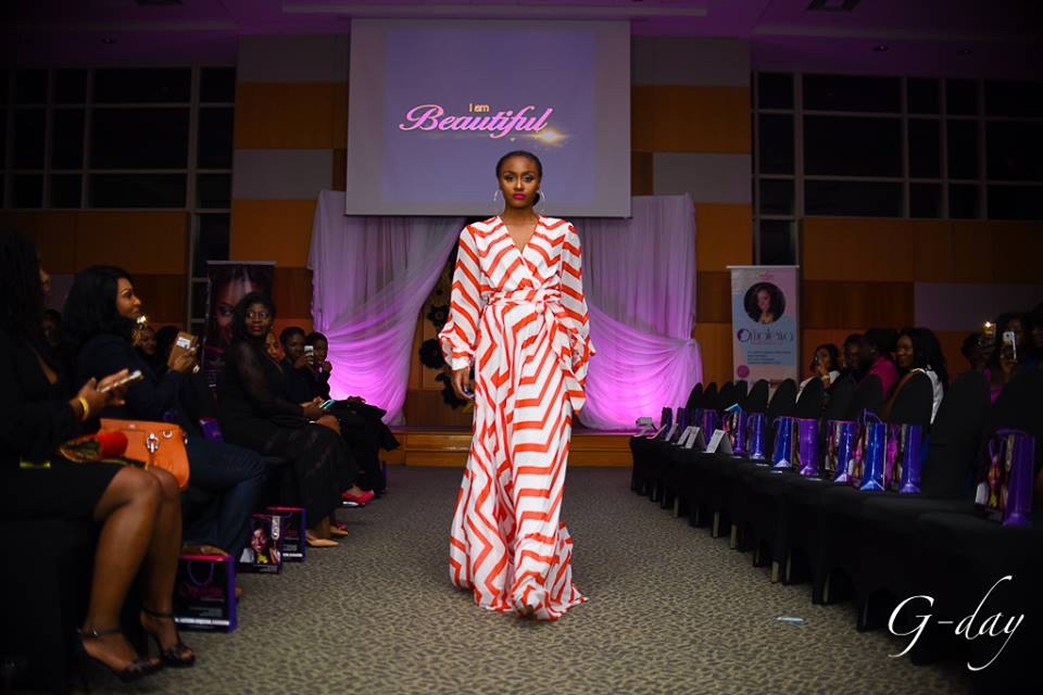 omolewa cosmetics launch bellanaija april2016_fashion show continues