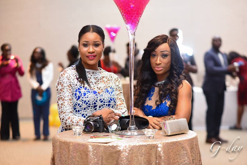 omolewa cosmetics launch bellanaija april2016_guest poses for pictures