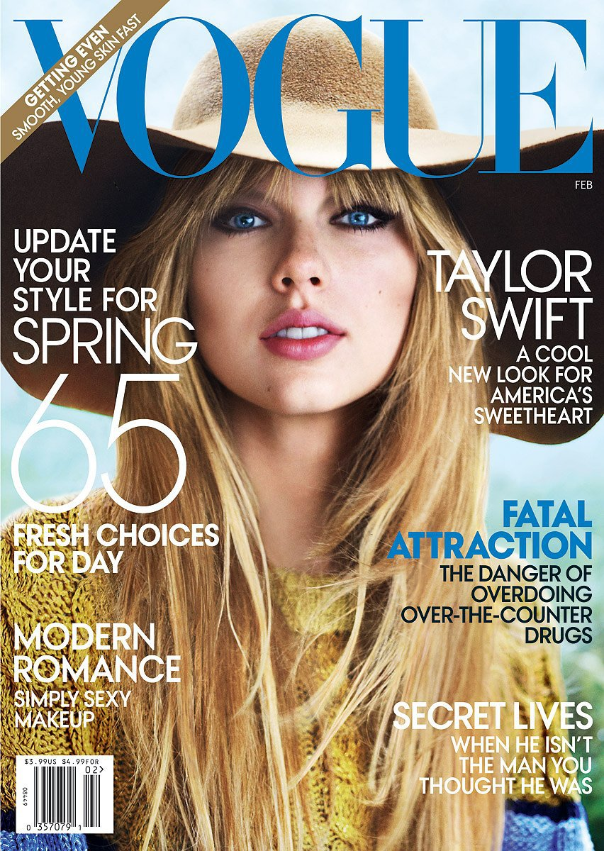Her first cover in February 2012