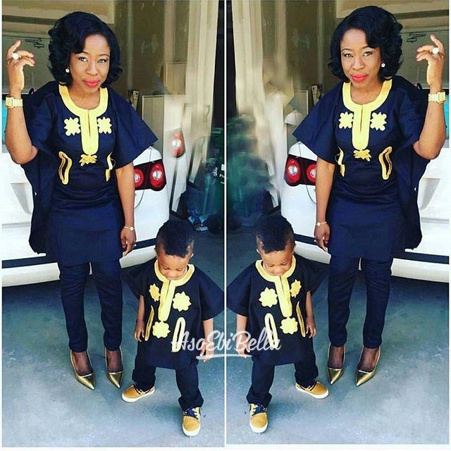 Twinning with mommy @tyntyfashions_tntfashions