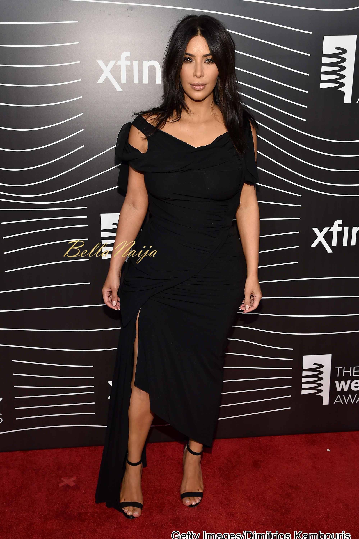 Webby's Awards 2016: Kim Kardashian Promises More Naked ... Kim Kardashian