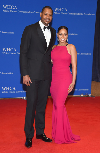 Carmelo Anthony & La La Anthony