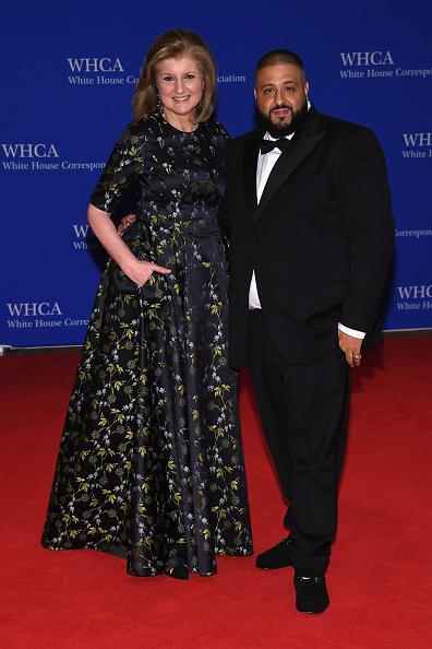 Arianna Huffington & DJ Khaled
