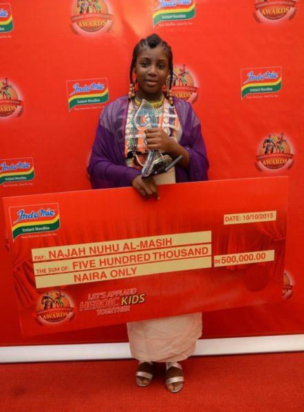 2015 IIDA 3rd place winner, Najah Nuhu Al-Masih