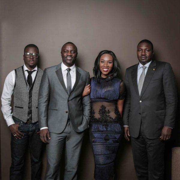 Eunice with Akon