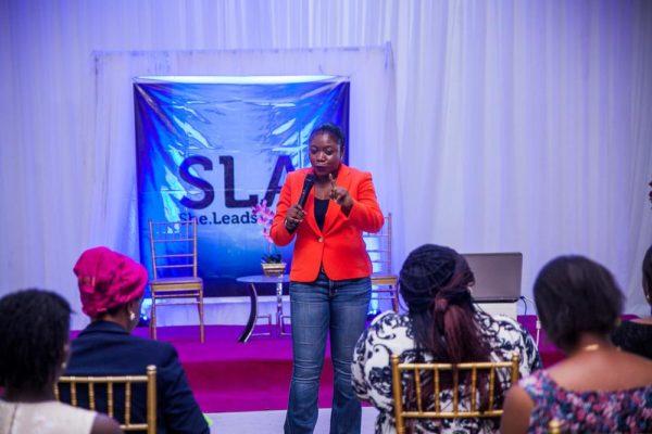 Adeshola Komolafe (CEO, MediaInsights Nigeria) teaching a session on Marketing