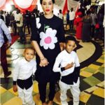 Adunni Ade and her cute sons