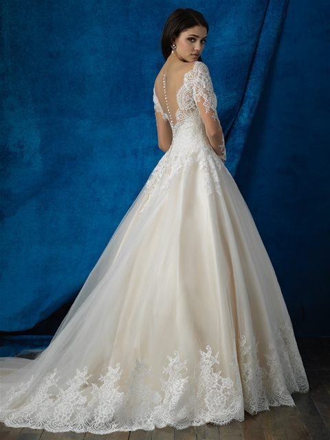 Allure Bridal - Fall 2016 - BN Bridal - BellaNaija - 2016 - 16 - back