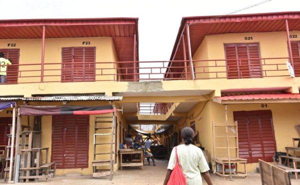 Ambode Commissions Shopping complex in Ikorodu