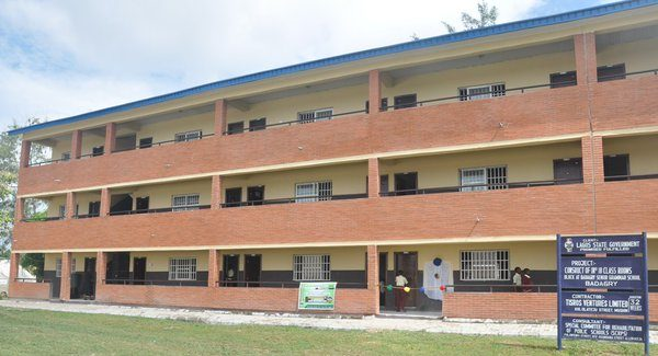 Ambode Commissions block of classrooms in Badagry