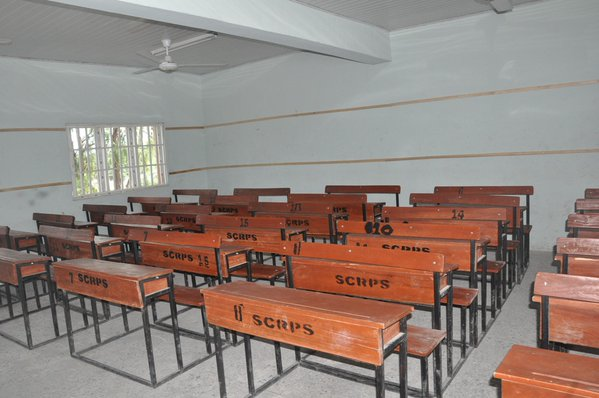 Ambode Commissions block of classrooms in Badagry2