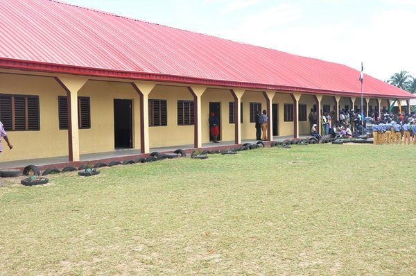 Ambode Commissions block of classrooms in Badagry3