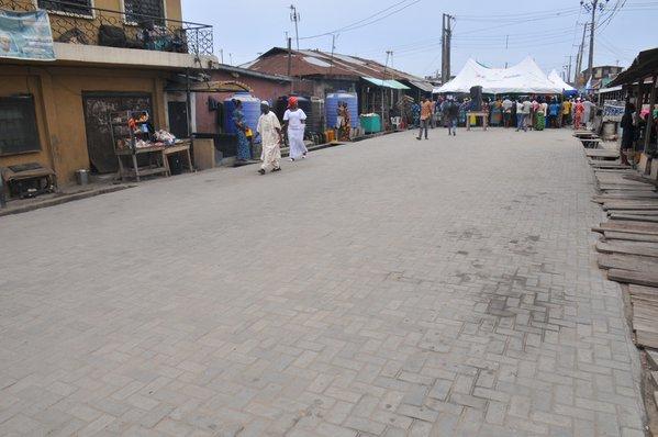 Ambode Commissions roads in Ajeromi Ifelodun2