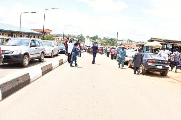 Ambode Commissions roads in Ikorodu