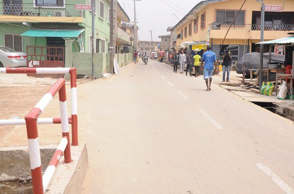 Ambode Commissions roads in Kosofe2